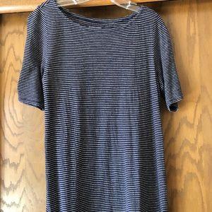 Eileen Fisher Hemp and Cotton Midi Dress